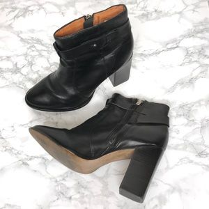 Madewell The Sammie Boot Black Leather Size 9.5